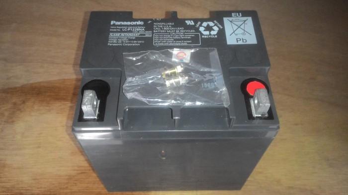 harga Aki (baterai) vrla ups kering (mf battery) panasonic 12 v 28 ah Tokopedia.com