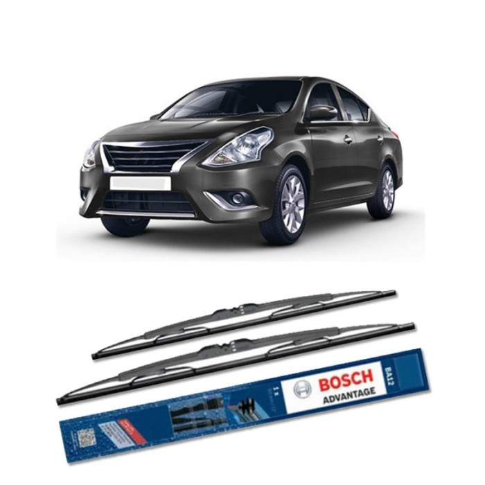 harga Bosch sepasang wiper kaca mobil nissan sunny advantage 21 &14 - 2 buah Tokopedia.com