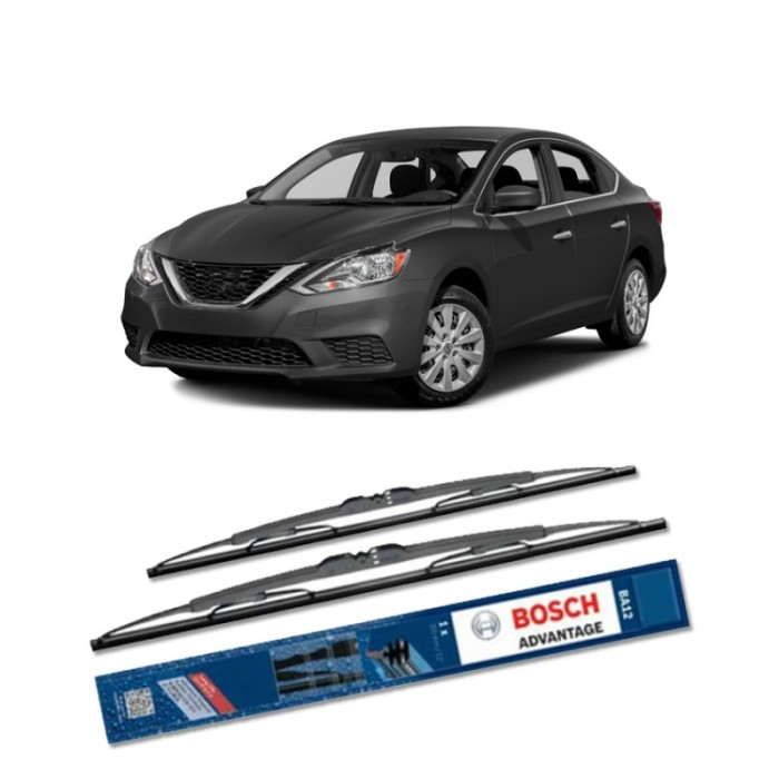 harga Bosch sepasang wiper kaca mobil nissan sentra (2013) advantage 20 & 18 Tokopedia.com