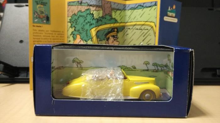 Foto Produk Tintin Mobil Diecast No 12 dari Myjoeshop