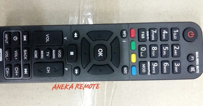 harga Remote remot decorder parabola nexmedia +tv multi Tokopedia.com