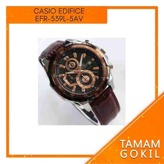 harga Jam Tangan Pria Casio Edifice Efr-539l-5av Tokopedia.com
