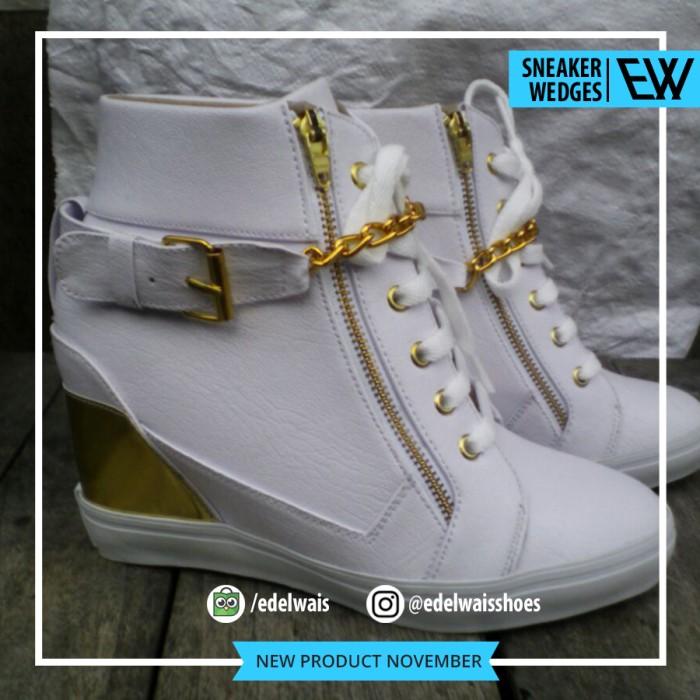 harga Sepatu sneaker wedges wanita kets heels boot nike converse Tokopedia.com