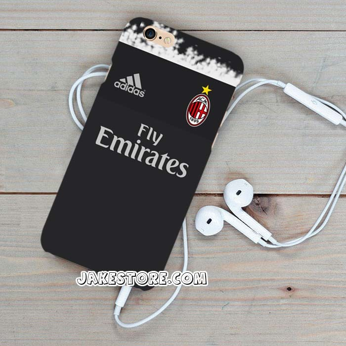 harga Ac milan jersey away samsung galaxy s6 edge casing case hardcase hard Tokopedia.com