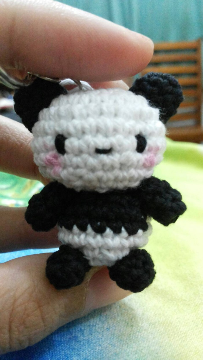 Pandabär Amigurumi Häkelanleitung Panda | 1243x700