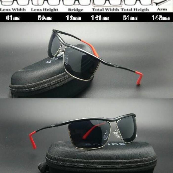 Jual kacamata Police 1925 Hitam Ducati polarised - Cahaya optik ... 441fbf629f
