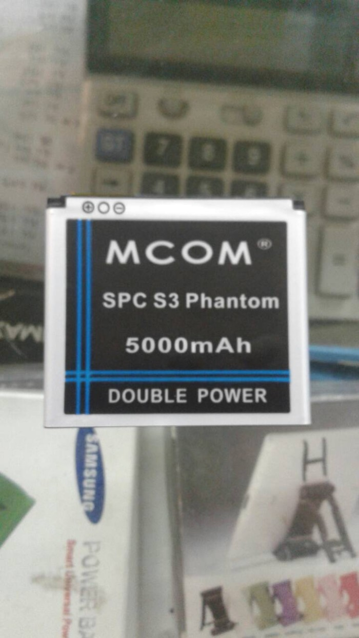 harga Baterai spc s3 phantom double power mcom Tokopedia.com