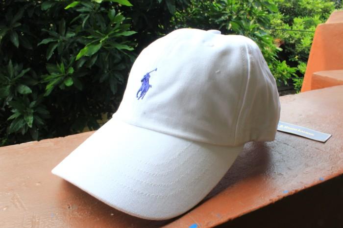 Jual Cap Polo White Ralph Lauren Original (Topi Polo) - Doridho ... cb515d976b