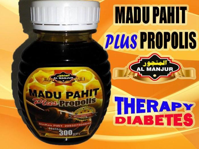 harga Madu pahit plus propolis al manjur 300 gram Tokopedia.com