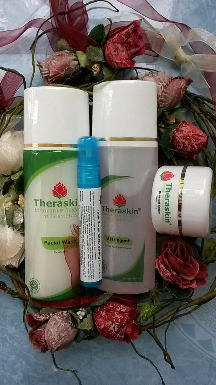 Jual Normal Paket Theraskin Bpom Original 100 Mawar Cream