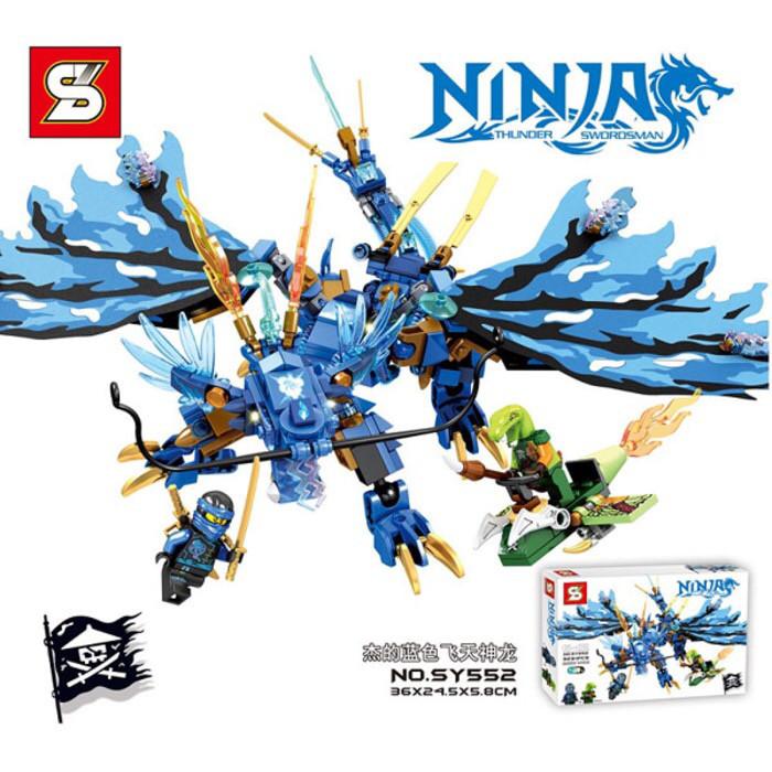 Jual Lego Kw Ninjago Jay S Flying Dragon Blue Sy 552 Kota Bekasi Dna Store Tokopedia