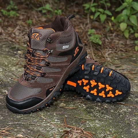 harga Sepatu gunung snta 490 brown orange /trekking/hiking/adventure/outdoor Tokopedia.com