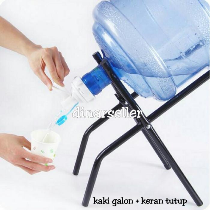 harga Sap kaki galon + kran air (ready stock) / galon holder / stand galon Tokopedia.com