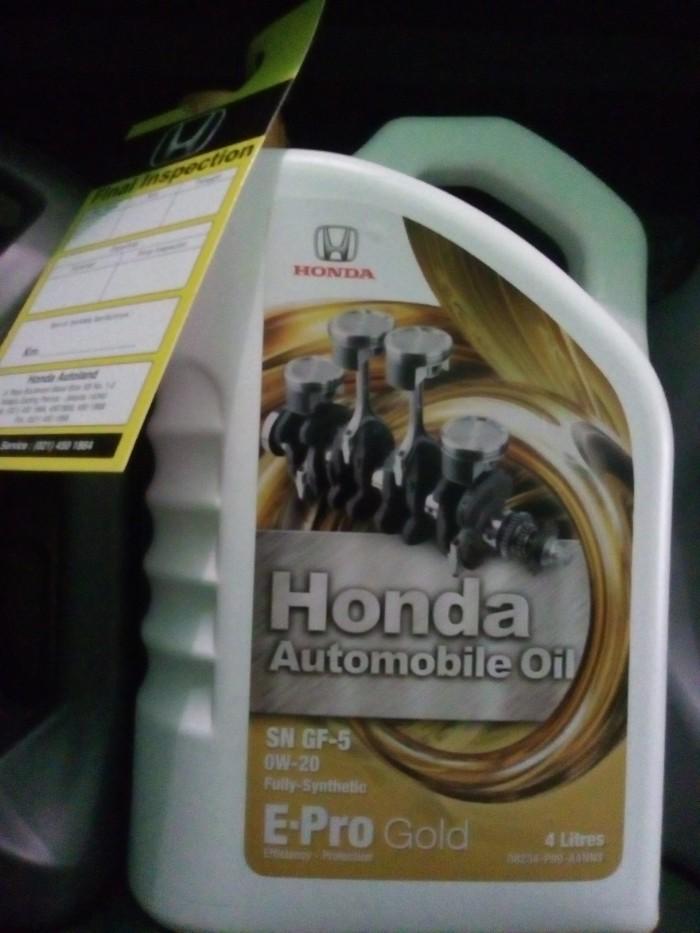 harga Oli honda epro gold 0w20 api sn gf5 full synthetic original murmer Tokopedia.com
