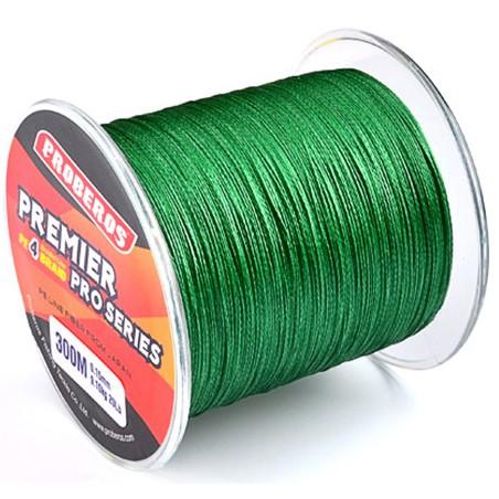 harga Senar pancing proberos pe braided 0.14mm  300m max 4.5kg warna hijau Tokopedia.com