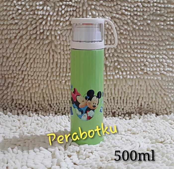 harga Termos tutup gelas mickey mouse minnie 500ml botol minum karakter anak Tokopedia.com