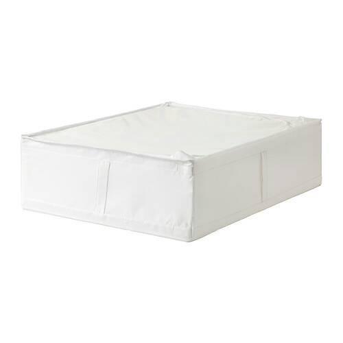 Ikea skubb kotak penyimpanan 69x55x19 cm - putih