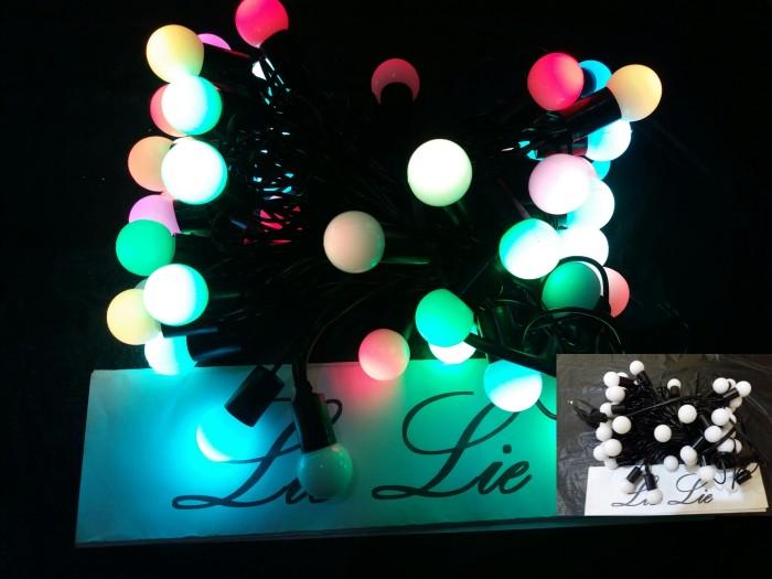 harga Lampu natal twinkle bola kelereng pinus kristal bintang 50 led Tokopedia.com