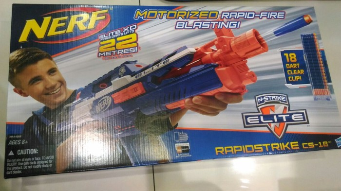 harga Nerf n-strike elite  rapidstrike cs-18  motorized Tokopedia.com