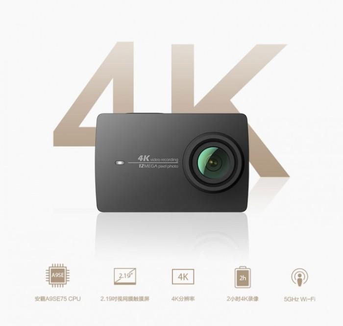 harga Xiaomi yi 4k action cam + original xiaoyi underwater housing Tokopedia.com
