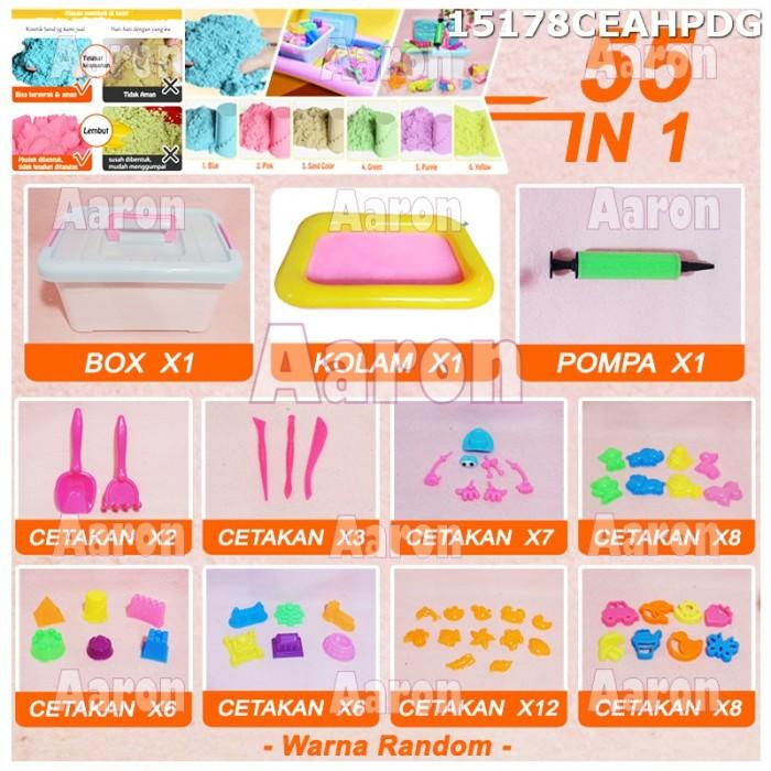harga Kinetik sand package 55 in 1 / pasir ajaib mainan edukasi anak 15178 Tokopedia.com