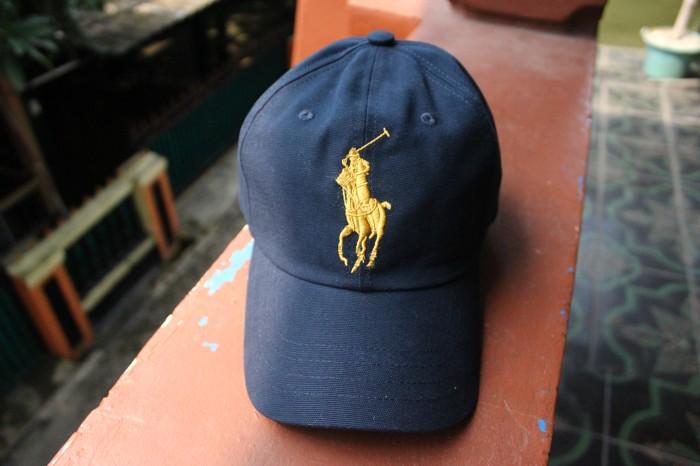 Jual Cap Polo Navy Ralph Lauren Original (Topi Polo) - Doridho ... fc1e2eebe1