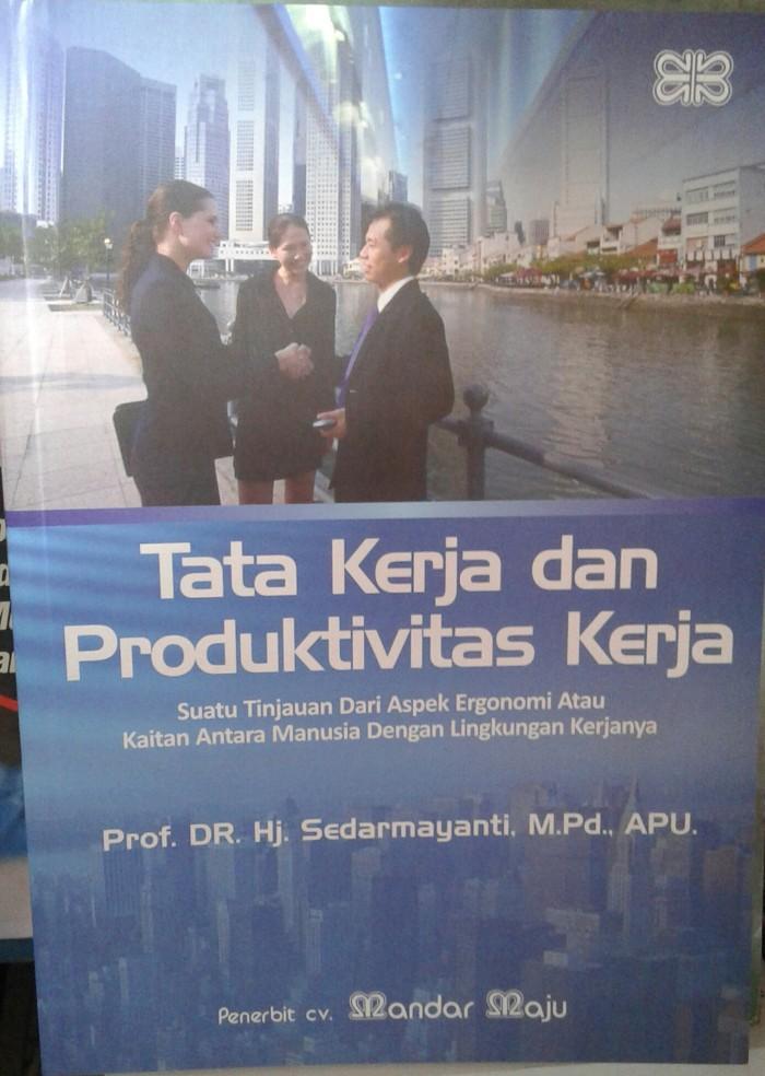 harga Buku tata kerja dan produktivitas kerja Tokopedia.com