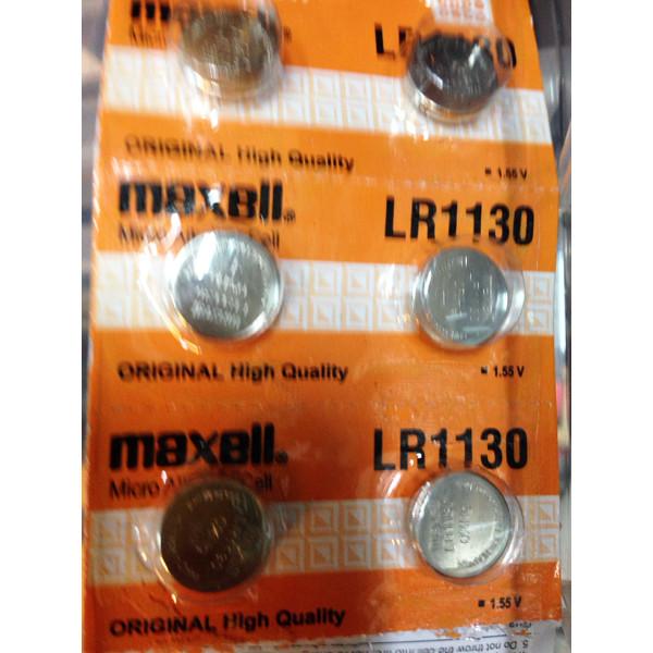 Batre / Batere / Battery / Baterai Kancing Maxell Button Cell LR1130