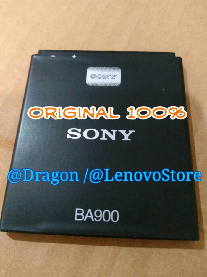 Baterai Batre Batere Battery Batrei Sony Xperia E1 / BA900 J L M TX GX