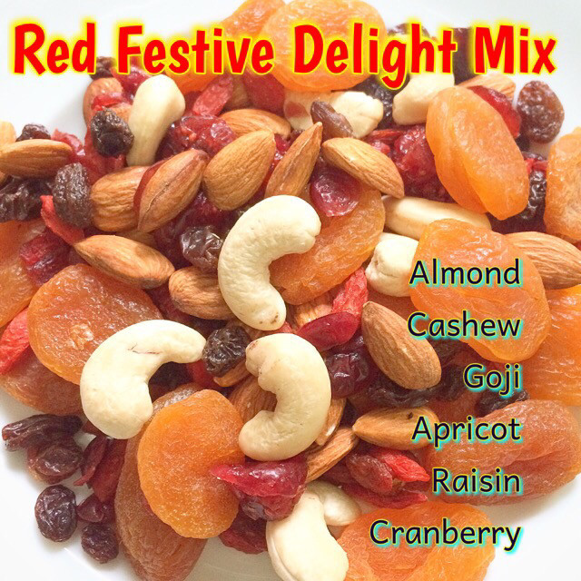 Red festive delight mix 300 gr