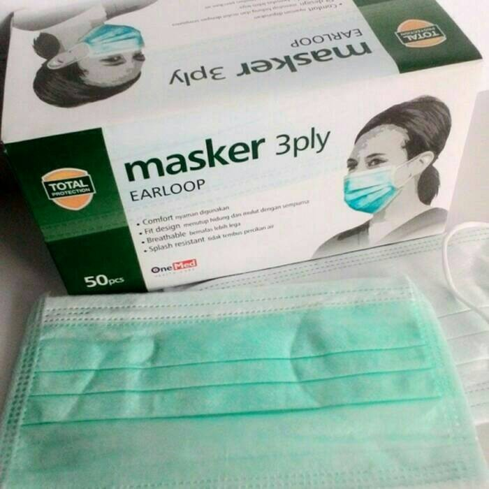 Masker karet earloop onemed