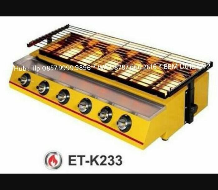 harga Panggangan gas 6 tungku (sosis bakarayamikan) kompor panggang Tokopedia.com