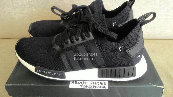 c15eb751d Jual Sepatu Adidas NMD R1 PK Japan Black ORIGINAL - Kota Bandar ...