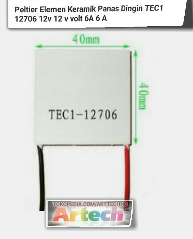 harga Peltier Tec-12706 Peltier Tokopedia.com