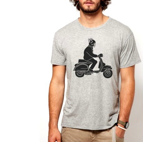 harga Skull vespa misty bikers scooter bandung merchandise Tokopedia.com