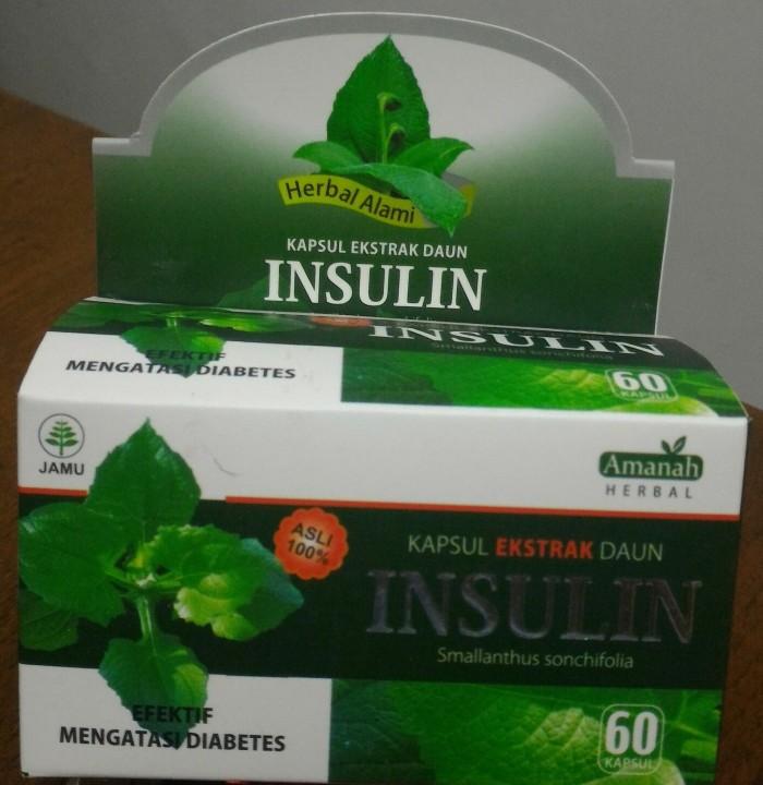 Kapsul Daun Insulin