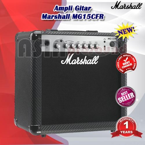 harga Ampli gitar marshall mg15cfr / mg 15cfr / mg-15cfr Tokopedia.com