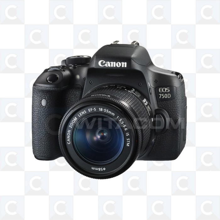 harga Canon eos 750d kit ef-s 18-55mm is stm Tokopedia.com