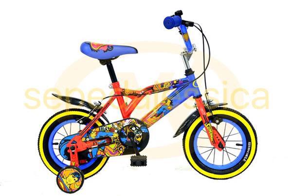 harga Sepeda anak bmx 12  wimcycle superman Tokopedia.com
