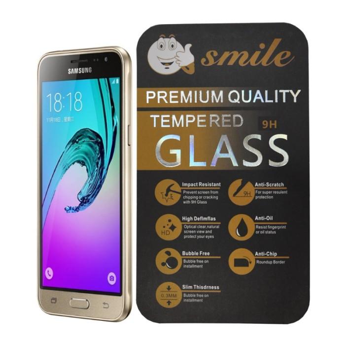 harga Anti gores kaca tempered glass samsung galaxy j2 2016 - merk smile Tokopedia.com