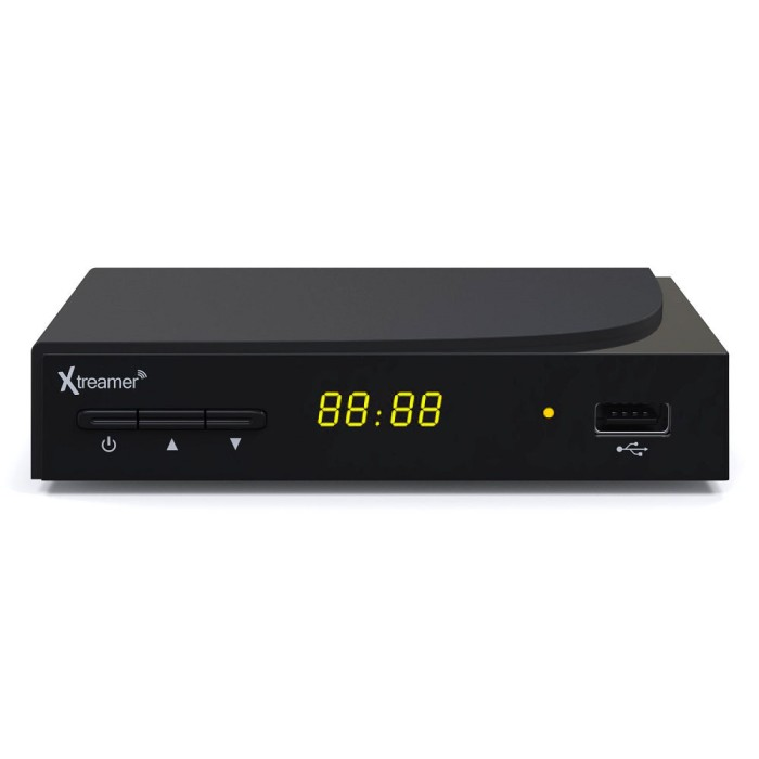 Xtreamer bien 3 set top box dvb-t2 and media player - hitam