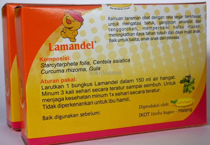 Herbal Lamandel Obat Amandel Ampuh Tanpa Operasi 1box 12 Sachet Source · Jual Limited Lamandel Obat