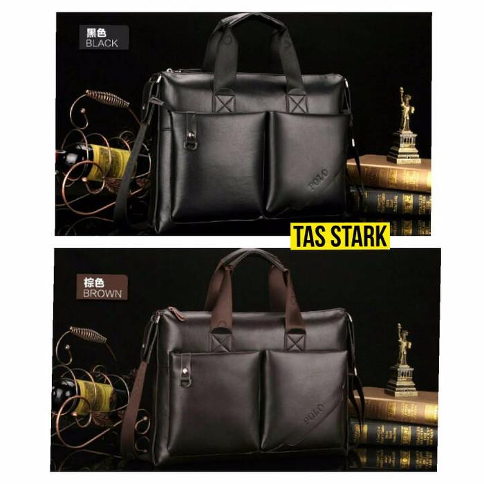 f44e2122967 harga Tas selempang slingbag sekolah kerja polo stark kulit ori pria wanita  Tokopedia.com