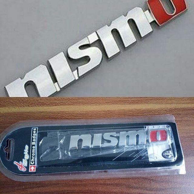Foto Produk Emblem Nismo Logo Nismo JDM sambung chrome dari Pusat Impor