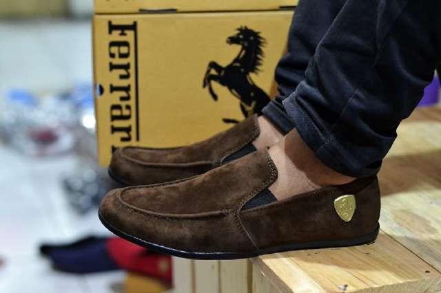 harga Sepatu casual pria ferari mf001 Tokopedia.com
