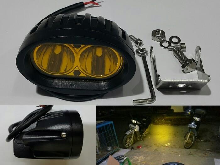 harga Led sorot 20w kuning | lampu offroad mobil motor Tokopedia.com