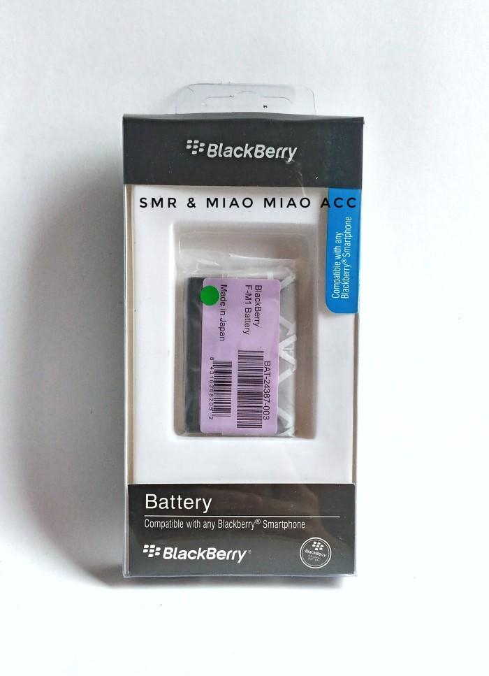 harga Baterai blackberry f-m1 / bb pearl 9105/ bb style 9670 original 100% Tokopedia.com
