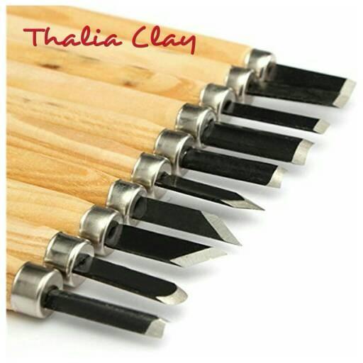 Jual Wood Carving Tools Chisels Tools Sculpting Tools Thalia Clay
