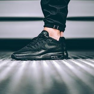 huge selection of aef46 1f3aa ... order nike air max 1 ultra flyknit triple black 856958 001 6c7ee 5e14d