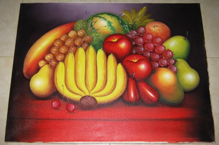 Gambar Lukisan Buah Dalam Bakul Bagikan Contoh